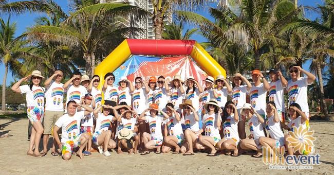 du lịch team building Đà Nẵng khối KSNB ngân hàng SHB 001