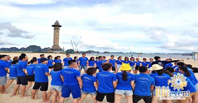tổ chức du lịch team building Hạ Long tập đoàn Dolphin 001