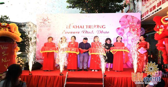 tổ chức lễ khai trương chi nhánh EvaCare Vĩnh Phúc 001