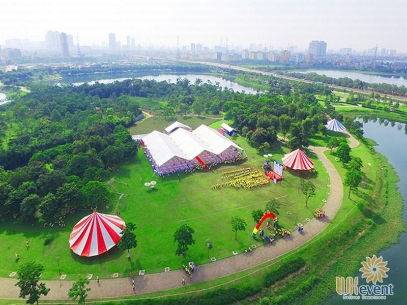 địa điểm tổ chức trung thu cho thiếu nhi tại công viên