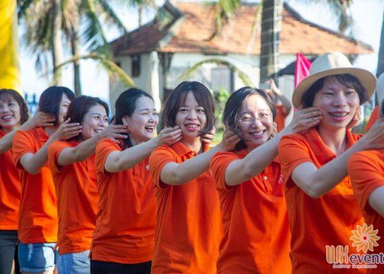 tổ chức du lịch team building Cửa Đại SHB Hoàn Kiếm 003