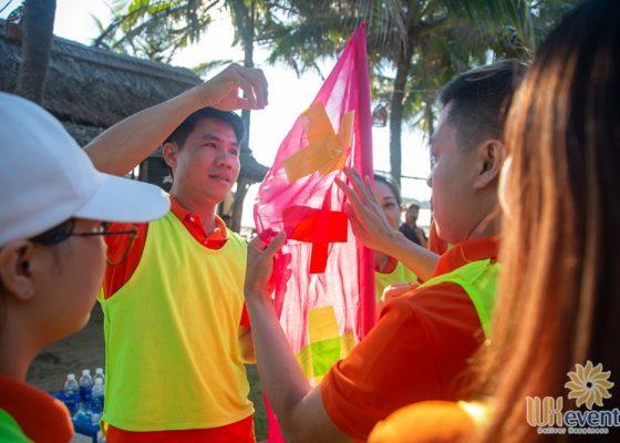 tổ chức du lịch team building Cửa Đại SHB Hoàn Kiếm 010