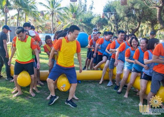 tổ chức du lịch team building Cửa Đại SHB Hoàn Kiếm 013