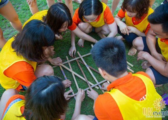 tổ chức du lịch team building Cửa Đại SHB Hoàn Kiếm 015