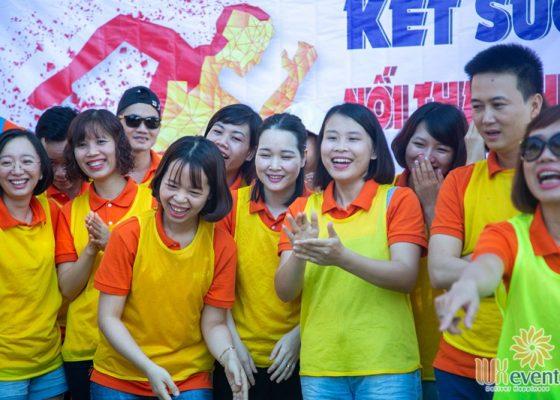 tổ chức du lịch team building Cửa Đại SHB Hoàn Kiếm 016