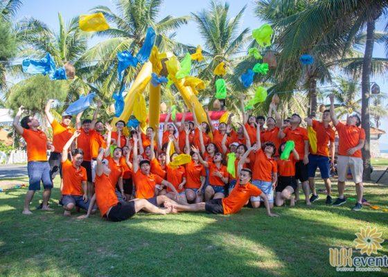 tổ chức du lịch team building Cửa Đại SHB Hoàn Kiếm 018