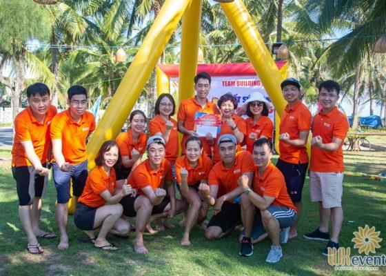 tổ chức du lịch team building Cửa Đại SHB Hoàn Kiếm 008