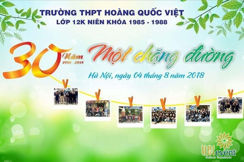 share backdrop họp lớp