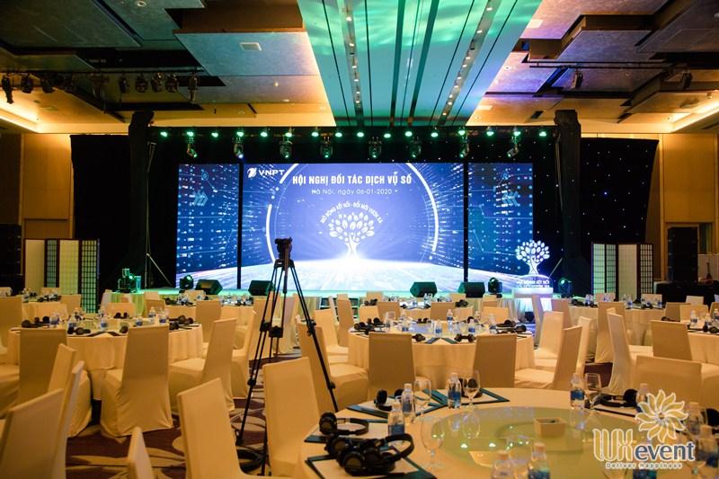 backdrop sự kiện hội nghị đối tác