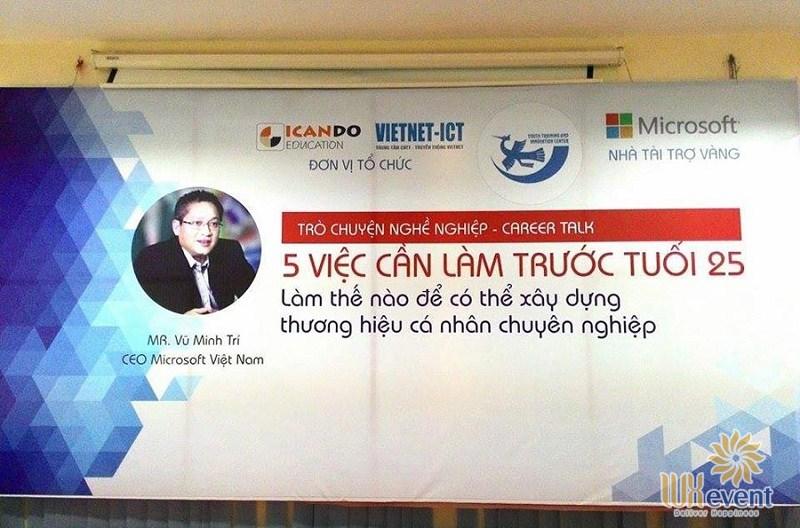 backdrop sự kiện hội nghịđẹp