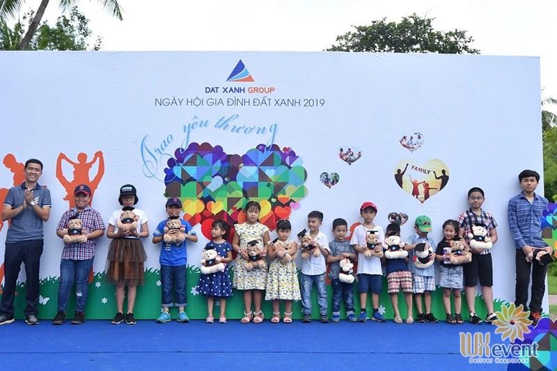 backdrop sự kiện family day