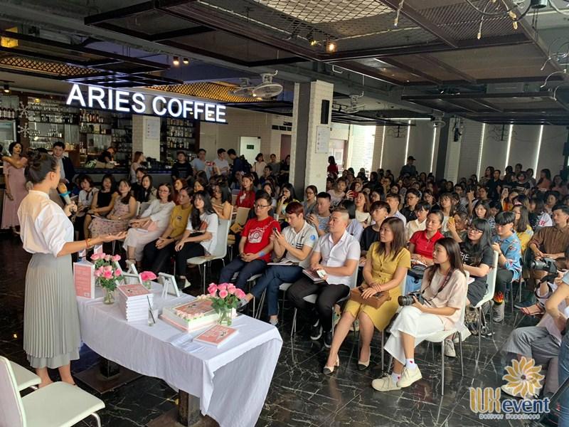 quán cafe cho thuê tổ chức sự kiện Aries Coffee