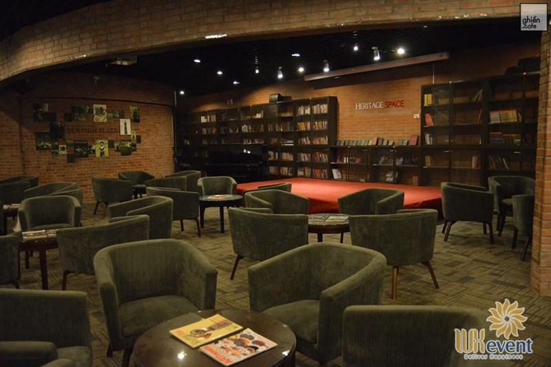 quán cafe tổ chức sự kiện tại Hà Nội Heritage Space