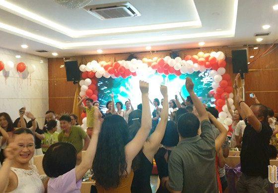 du lịch team building Đà Nẵng khối KSNB ngân hàng SHB 005