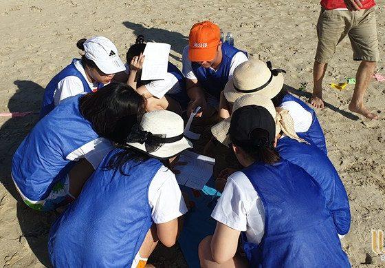 du lịch team building Đà Nẵng khối KSNB ngân hàng SHB 008