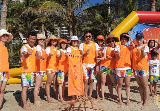 du lịch team building Đà Nẵng khối KSNB ngân hàng SHB 012