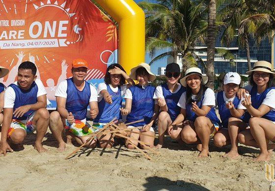 du lịch team building Đà Nẵng khối KSNB ngân hàng SHB 013