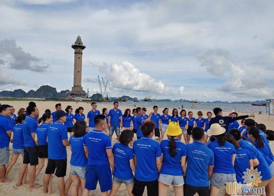 tổ chức du lịch team building Hạ Long tập đoàn Dolphin 005