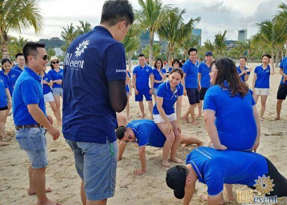tổ chức du lịch team building Hạ Long tập đoàn Dolphin 008