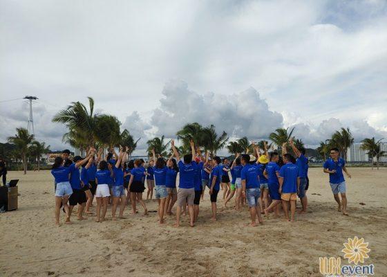 tổ chức du lịch team building Hạ Long tập đoàn Dolphin 009