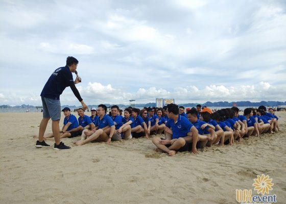 tổ chức du lịch team building Hạ Long tập đoàn Dolphin 011
