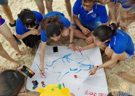 tổ chức du lịch team building Hạ Long tập đoàn Dolphin 012