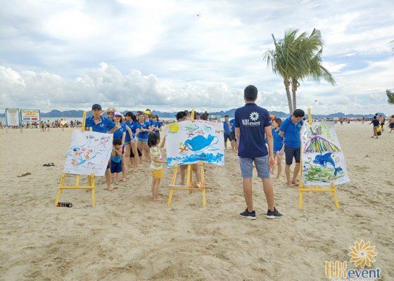 tổ chức du lịch team building Hạ Long tập đoàn Dolphin 013
