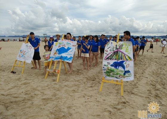 tổ chức du lịch team building Hạ Long tập đoàn Dolphin 014