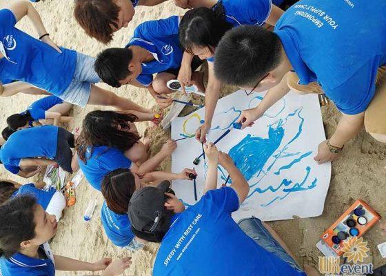 tổ chức du lịch team building Hạ Long tập đoàn Dolphin 004