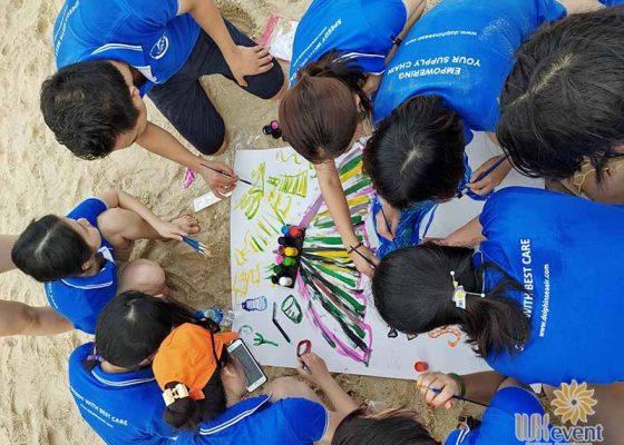 tổ chức du lịch team building Hạ Long tập đoàn Dolphin 006