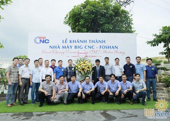 tổ chức lễ khánh thành nhà máy big cnc công ty foshan 003