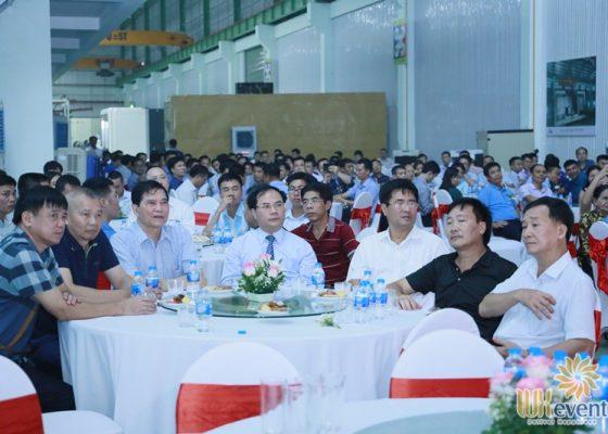 tổ chức lễ khánh thành nhà máy big cnc công ty foshan 005
