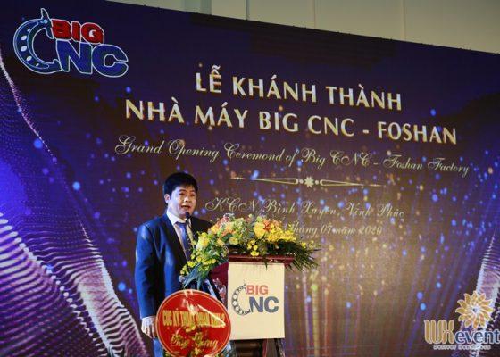 tổ chức lễ khánh thành nhà máy big cnc công ty foshan 006