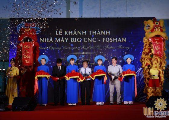 tổ chức lễ khánh thành nhà máy big cnc công ty foshan 014