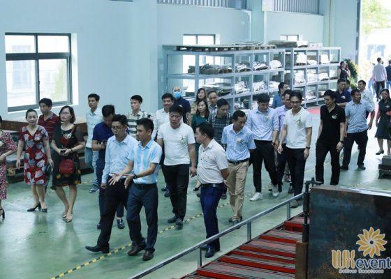 tổ chức lễ khánh thành nhà máy big cnc công ty foshan 015