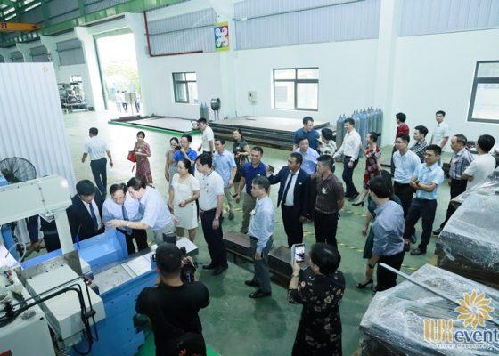 tổ chức lễ khánh thành nhà máy big cnc công ty foshan 016