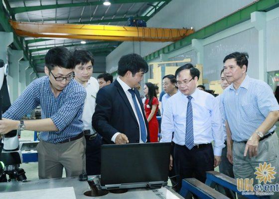 tổ chức lễ khánh thành nhà máy big cnc công ty foshan 017