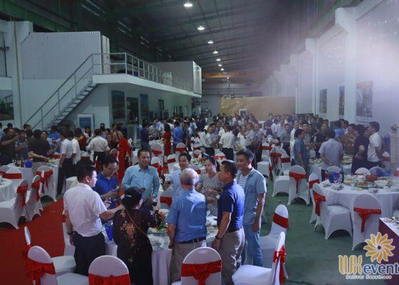 tổ chức lễ khánh thành nhà máy big cnc công ty foshan 018