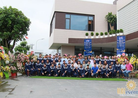 tổ chức lễ khánh thành nhà máy big cnc công ty foshan 019