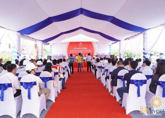 tổ chức lễ khởi công xây dựng dự án