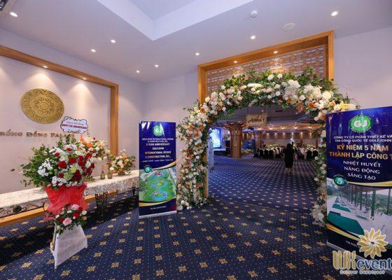 tổ chức lễ kỷ niệm 5 năm thành lập công ty Golfjohn 012