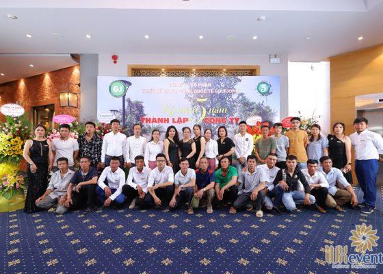 tổ chức lễ kỷ niệm 5 năm thành lập công ty Golfjohn 003