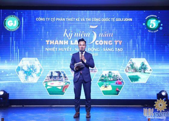 tổ chức lễ kỷ niệm 5 năm thành lập công ty Golfjohn 015