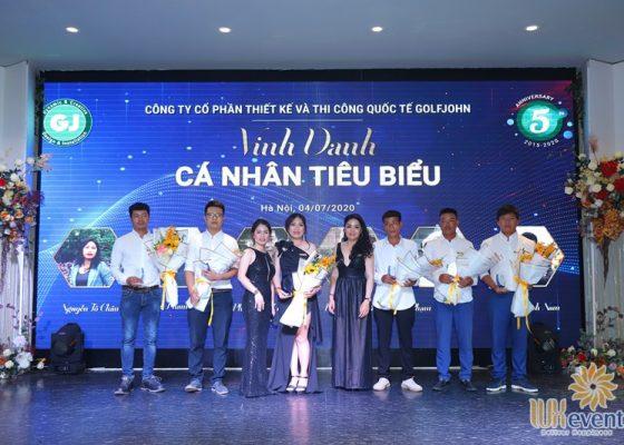 tổ chức lễ kỷ niệm 5 năm thành lập công ty Golfjohn 004