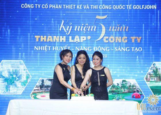tổ chức lễ kỷ niệm 5 năm thành lập công ty Golfjohn 005