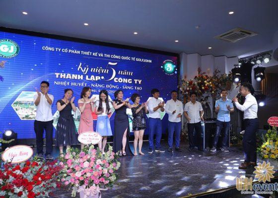 tổ chức lễ kỷ niệm 5 năm thành lập công ty Golfjohn 018