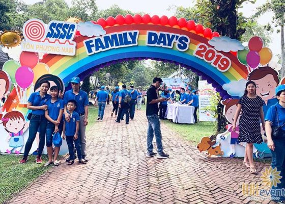 tổ chức familyday doanh nghiệp