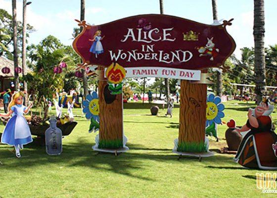 tổ chức ngày hội gia đình concept wonderland
