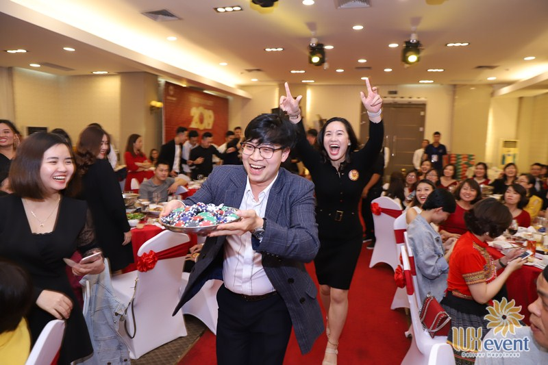 tổ chức sự kiện year end party