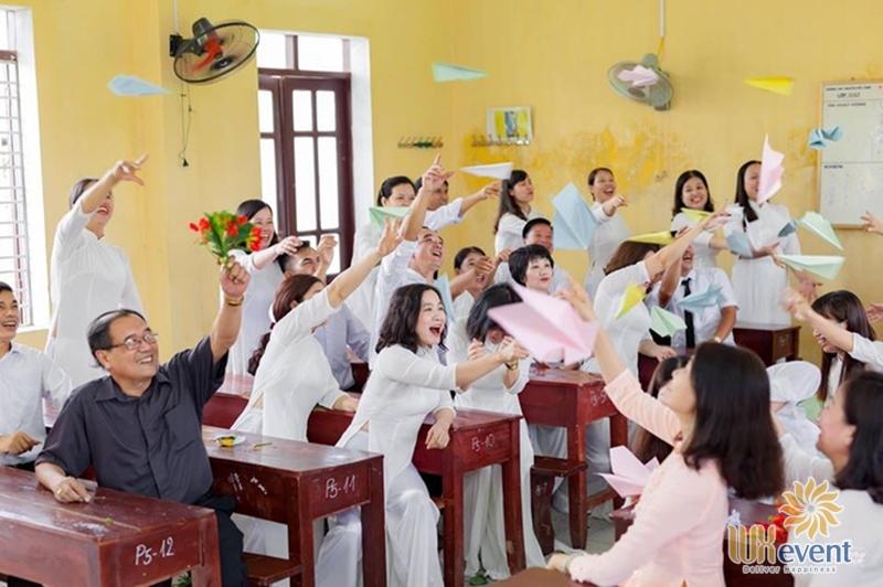 Ý tưởng tổ chức họp lớp mới nhất